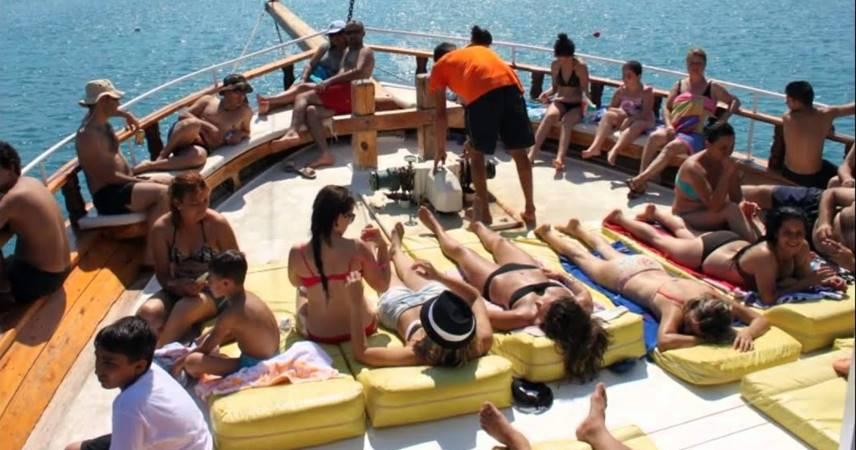 Mersin Taşucu Tekne Turu