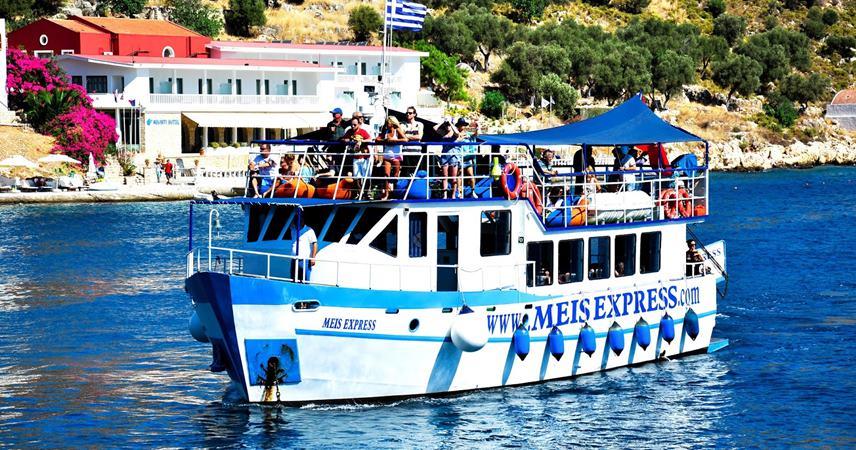 Kaş Meis Adası Turu